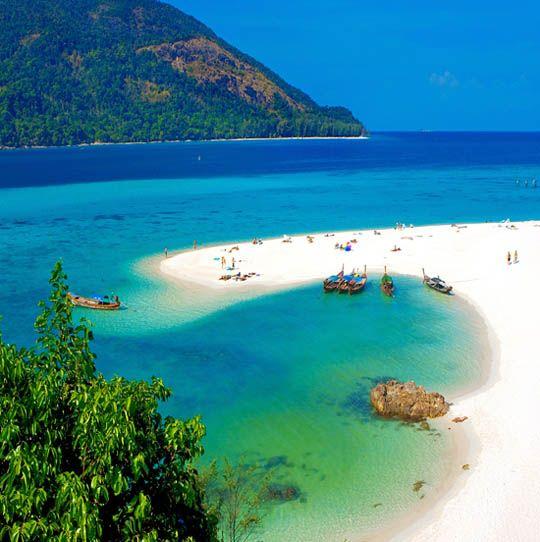 Phi Phi Beach: Phi Phi Beach Koh Lanta Tailandia ☆☆☆☆