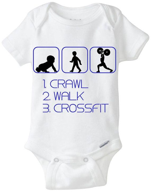 Funny Silhouette Baby Gift Onesie By Littlefroggysurfshop