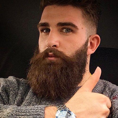 image gallery long groomed beard. Black Bedroom Furniture Sets. Home Design Ideas