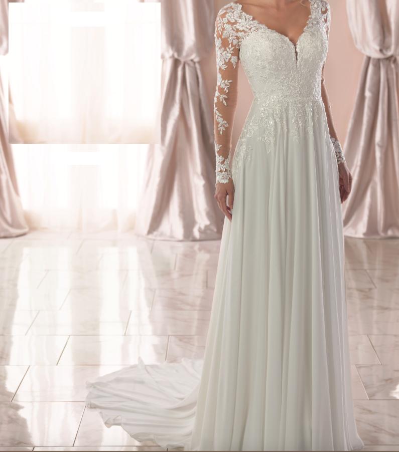 6843 By Stella York Wedding Dresses Lace Wedding Dresses