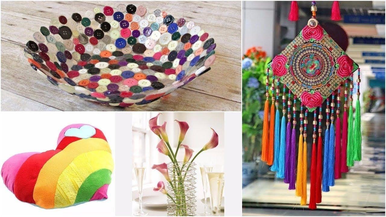 DIY ROOM DECOR 20 Easy Crafts Ideas At Home For Teenagers