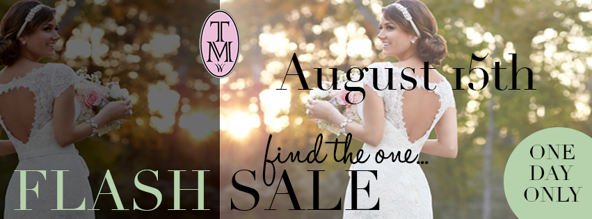 Sample Sale at Tilly Mint Weddings Saturday 15th August!