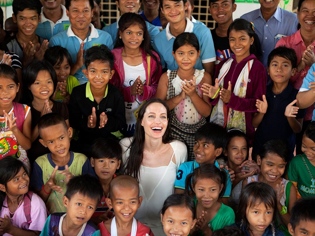 Angelina Jolie Pitt Makes an Emotional Return to Her Son Maddox's Home Country Cambodia: PHOTOS http://www.people.com/article/angelina-jolie-visits-cambodia-charities-new-film