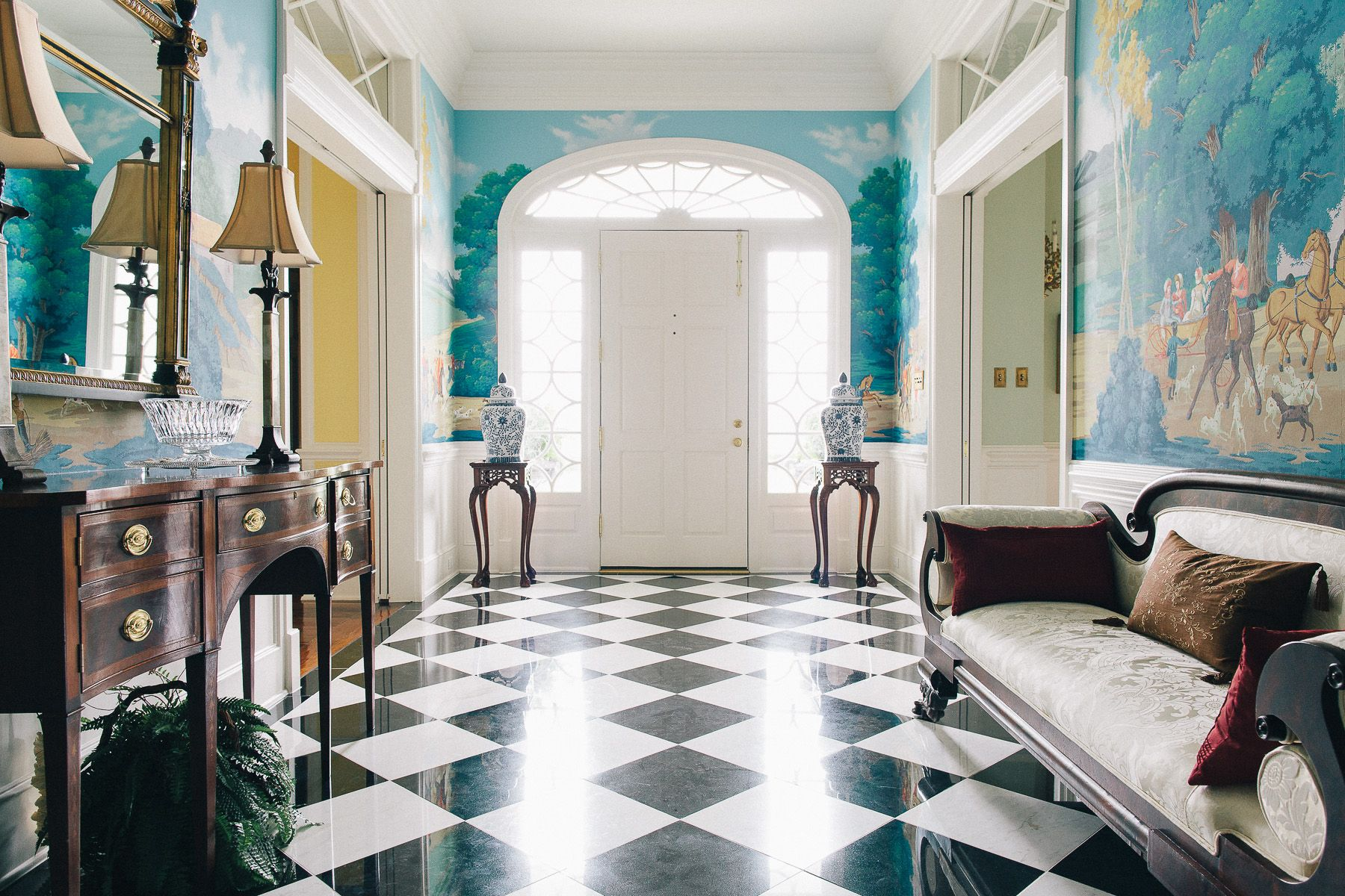 Black And White Marble Tile Walkways   Google Search