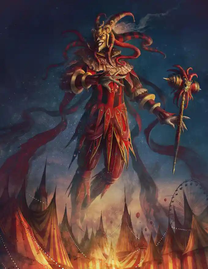 Heckna Carnival Horror Campaign Setting For 5e Dnd By Hit Point Press Kickstarter Carnival Art Fantasy Art Men Fantasy Monster