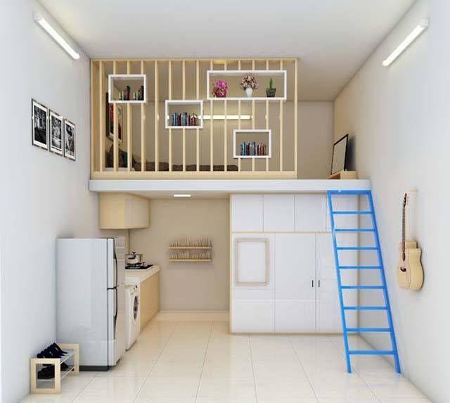 Kinderzimmer, Modernes Kleines Haus, Wohnen Im Mikrohaus, Mini Häuser, Kleine  Häuser, Loft Betten, Kleine Wohnungen, Lofts, Quartos