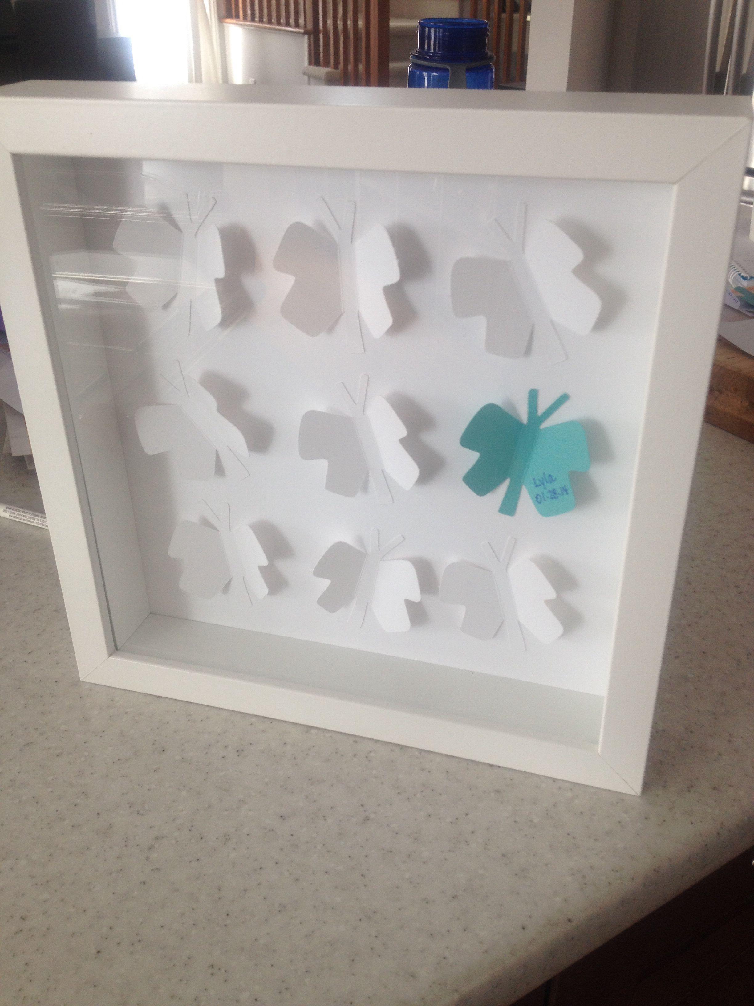 Butterflies for nursery