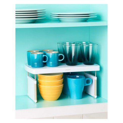 "YouCopia Kitchen Cabinet Organizer 13"" White : Target ..."