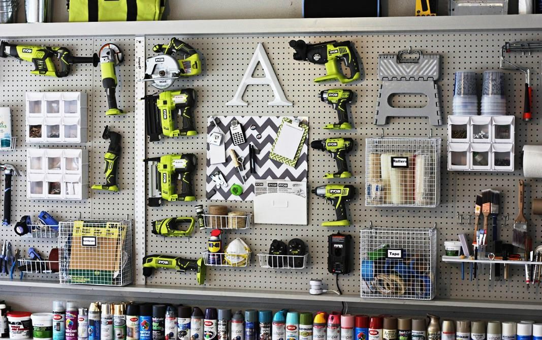 Garage Wall Organizer Shall Help To Make Optimally Functional And Clean Space With Best Storage S Garage Wall Organizer Garage Makeover Garage Organization Diy