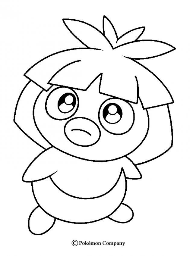 Smoochum Pokemon Coloring Page More Pokemon Coloring Sheets On