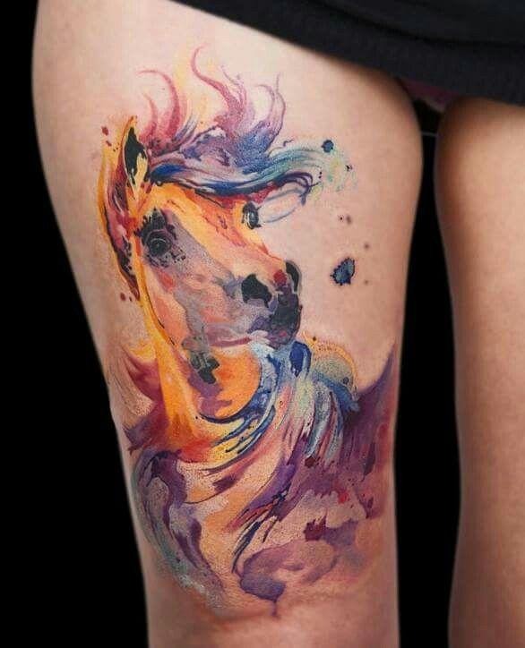 Tattoo Horse Tattoo Equine Tattoo Unicorn Tattoos