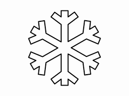 Image result for snowflake clipart black and white ...