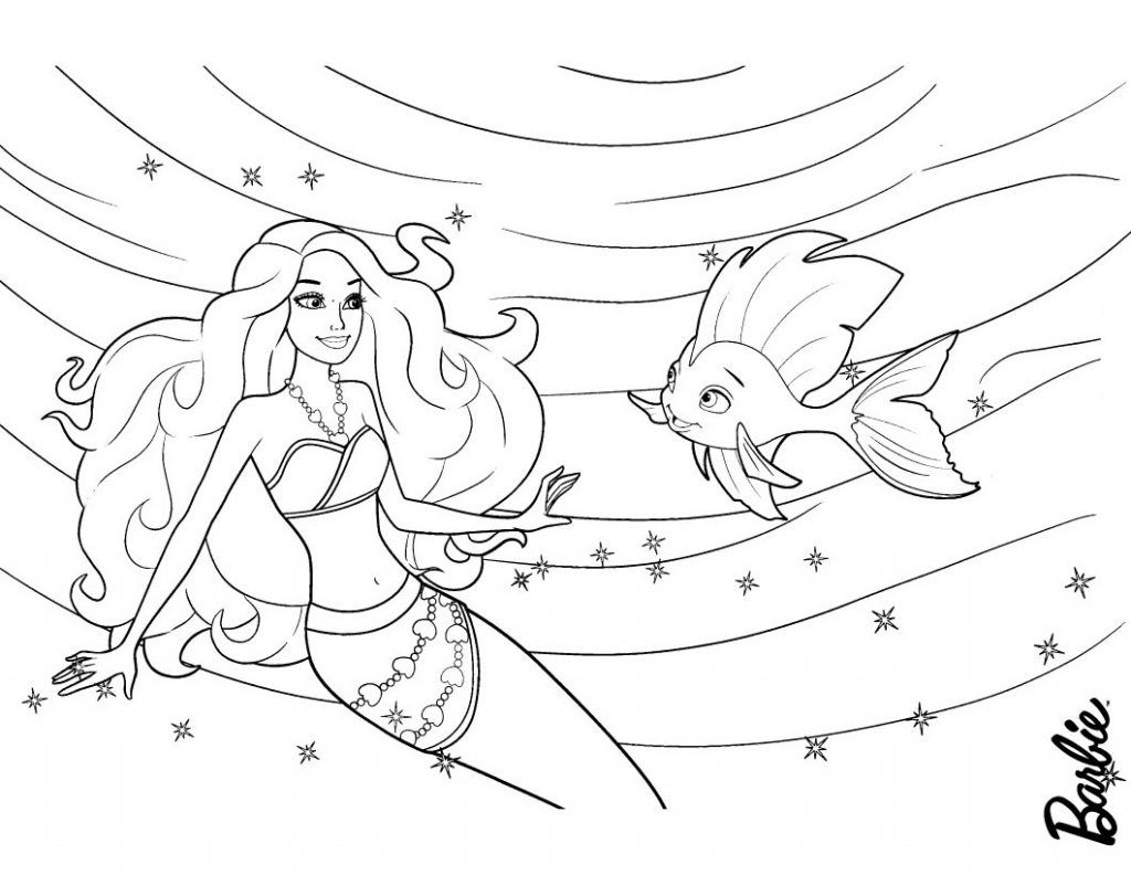 Barbie Mermaid Coloring Pages Best Coloring Pages For Kids Mermaid Coloring Pages Sleeping Beauty Coloring Pages Star Coloring Pages