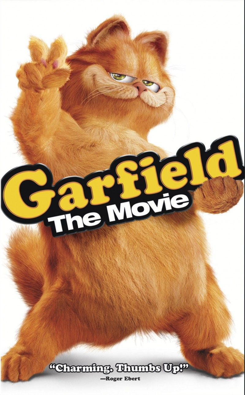 In 2004, Garfield had his first live action film