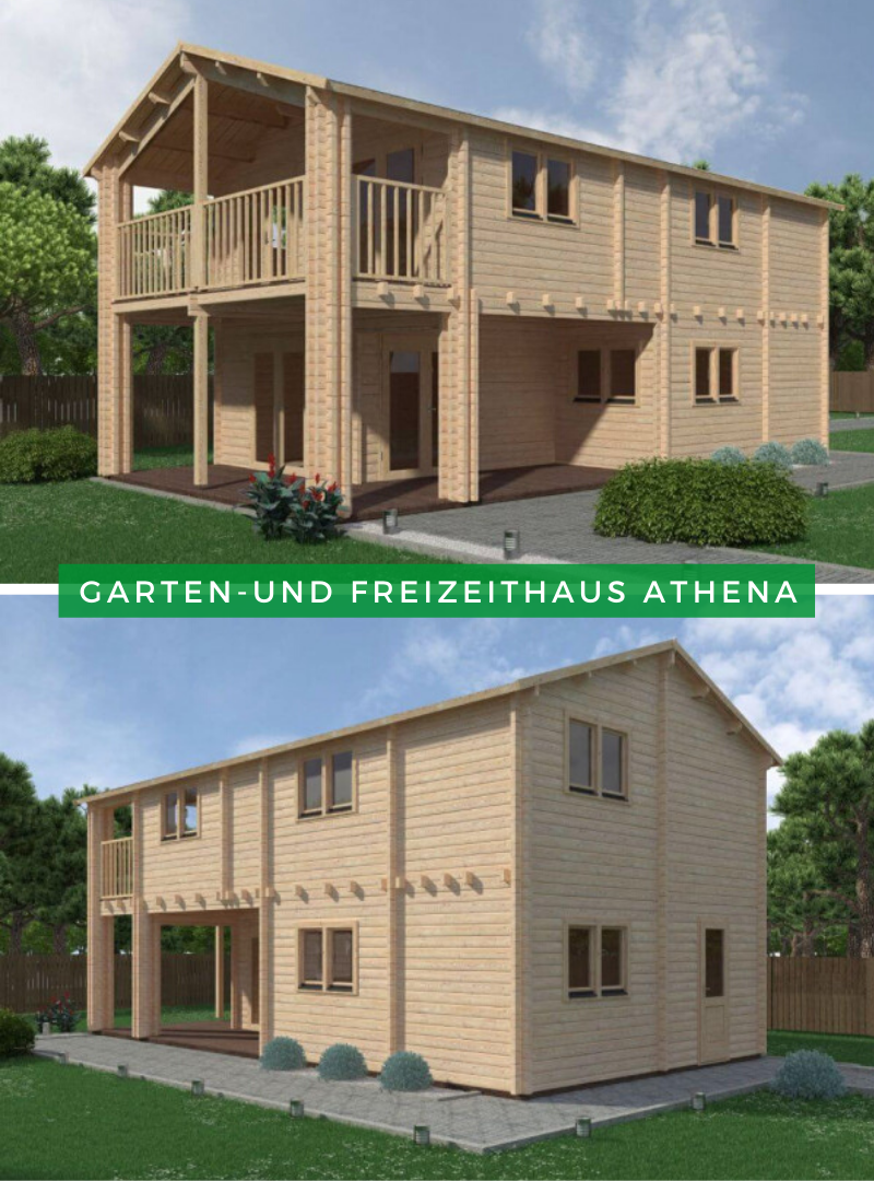 Garten Und Freizeithaus Athena Gartenhaus Mit Terrasse Gartenhaus Haus