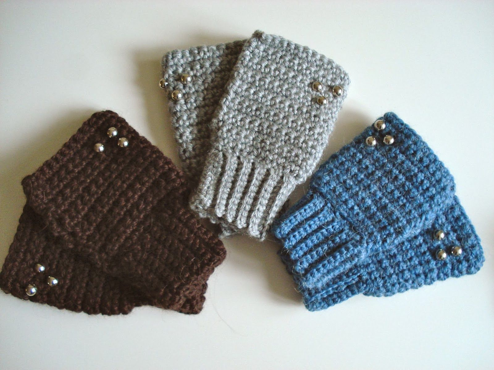 Patrón/pattern; mitones con puño elástico yoquetucrafteaba.blogspot ...