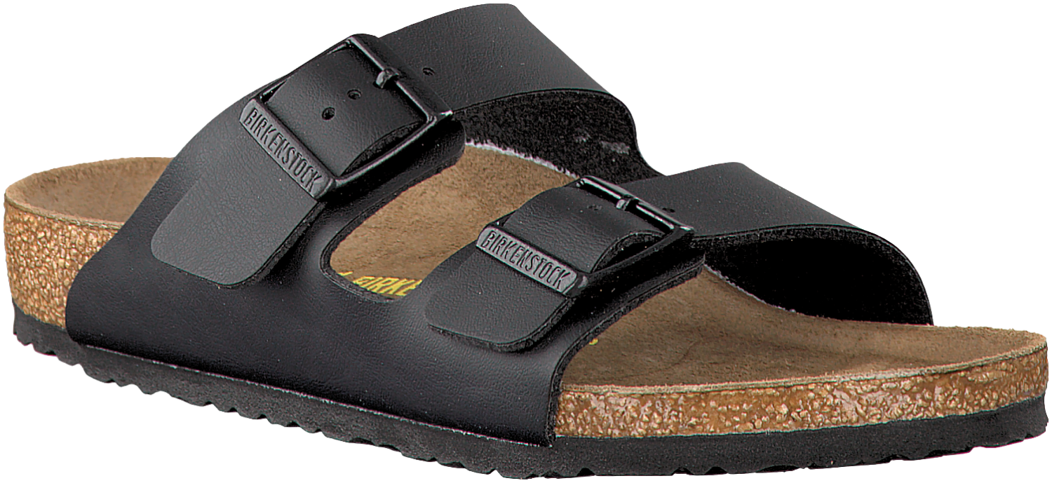 Zwarte BIRKENSTOCK PAPILLIO Slippers ARIZONA KIDS
