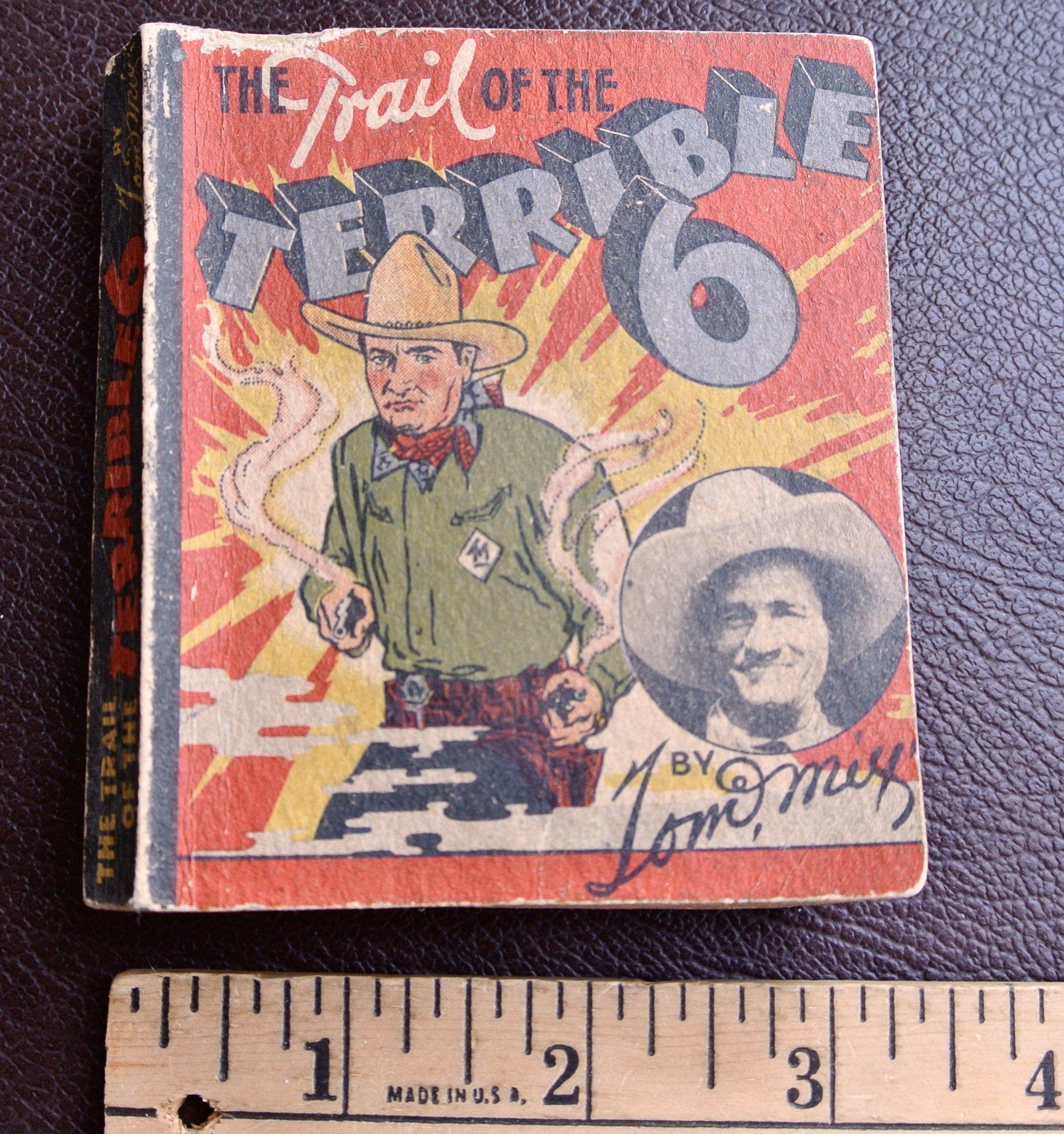 Vintage Mini Book, Tom Mix Book, Vintage Advertising