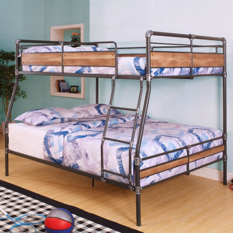 Eloy Full Over Queen Bunk Bed (With images) Queen bunk