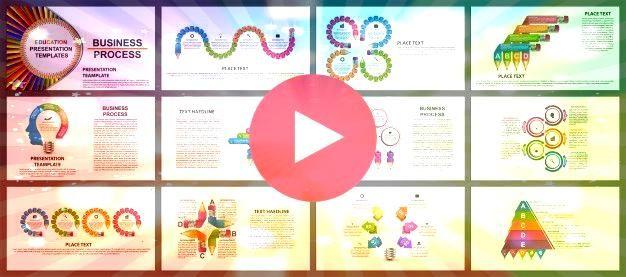 de presentación de negocios   Premium VectorPlantillas de presentación de negocios   Premium Vector Creative Business Presentation PowerPoint Template Canva...