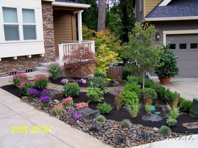 Small front yard landscaping ideas who want unique - Cheap no grass backyard ideas ...