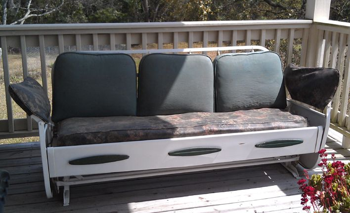 Love The Extra Sleeping Quarters For Summer Sleepovers:) U2014 Vintage Metal  Furniture   Vintage
