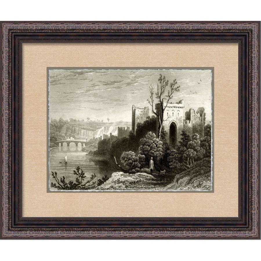 Castle Ruins B - Framed Giclee Print at HSN.com