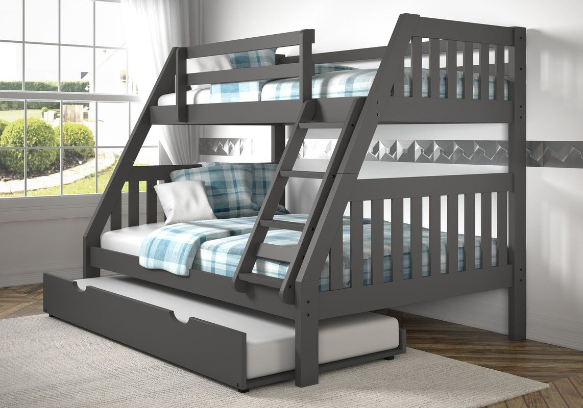 Dubbo Bunk Bed With Trundle Bunk Bed With Trundle Twin Full