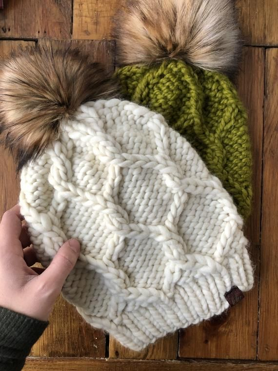 The Twist of Fate Beanie Knitting Pattern Cable Knit PDF ...