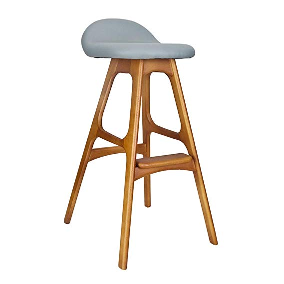 size 40 a902b f6ac4 Amazon.com: WEIYV-Barstools,bar Chair Nordic Simple, Leisure ...