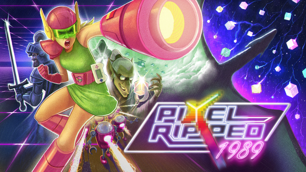 Retro styled adventure game Pixel Ripped 1989 launches