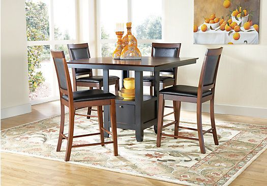 Shop For A Davino 5 Pc Counter Height Dining Set At Rooms To Go Classy Rooms To Go Dining Sets Design Decoration