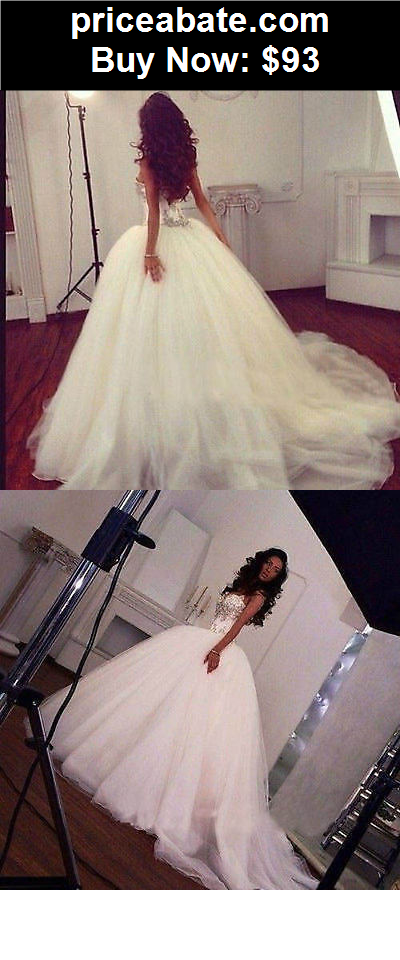 Wedding-Dresses: 2015 New Elegant White/ivory bridal gown wedding dress custom size 6 8 10 12+++ - BUY IT NOW ONLY $93