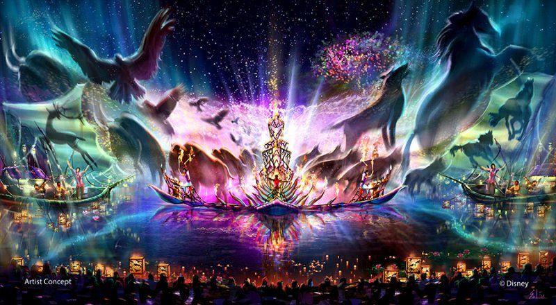 """Jennifer Fickley-Baker, em 20 de novembro de 2015, publicou mais alguns detalhes a respeito do novo show - """"Rivers of Light"""" - que será inaugurado no..."""