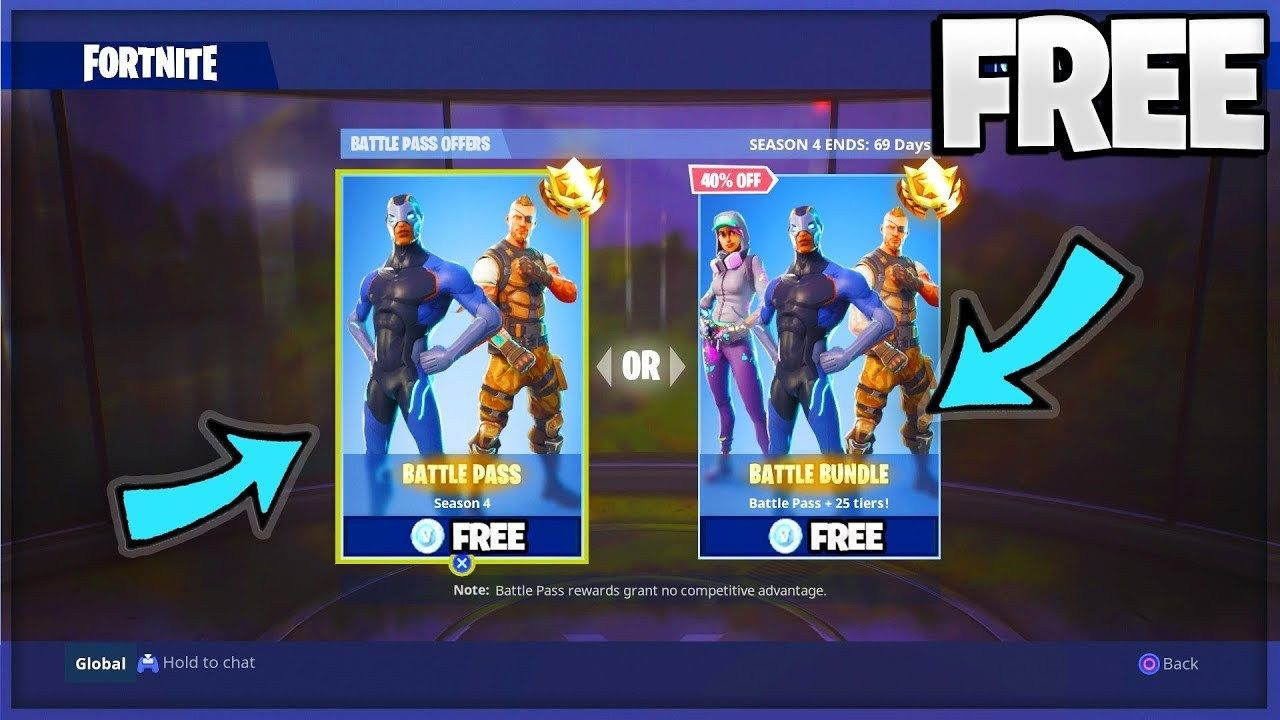Fortnite Want The Battle Pass For Free In 2019 Games