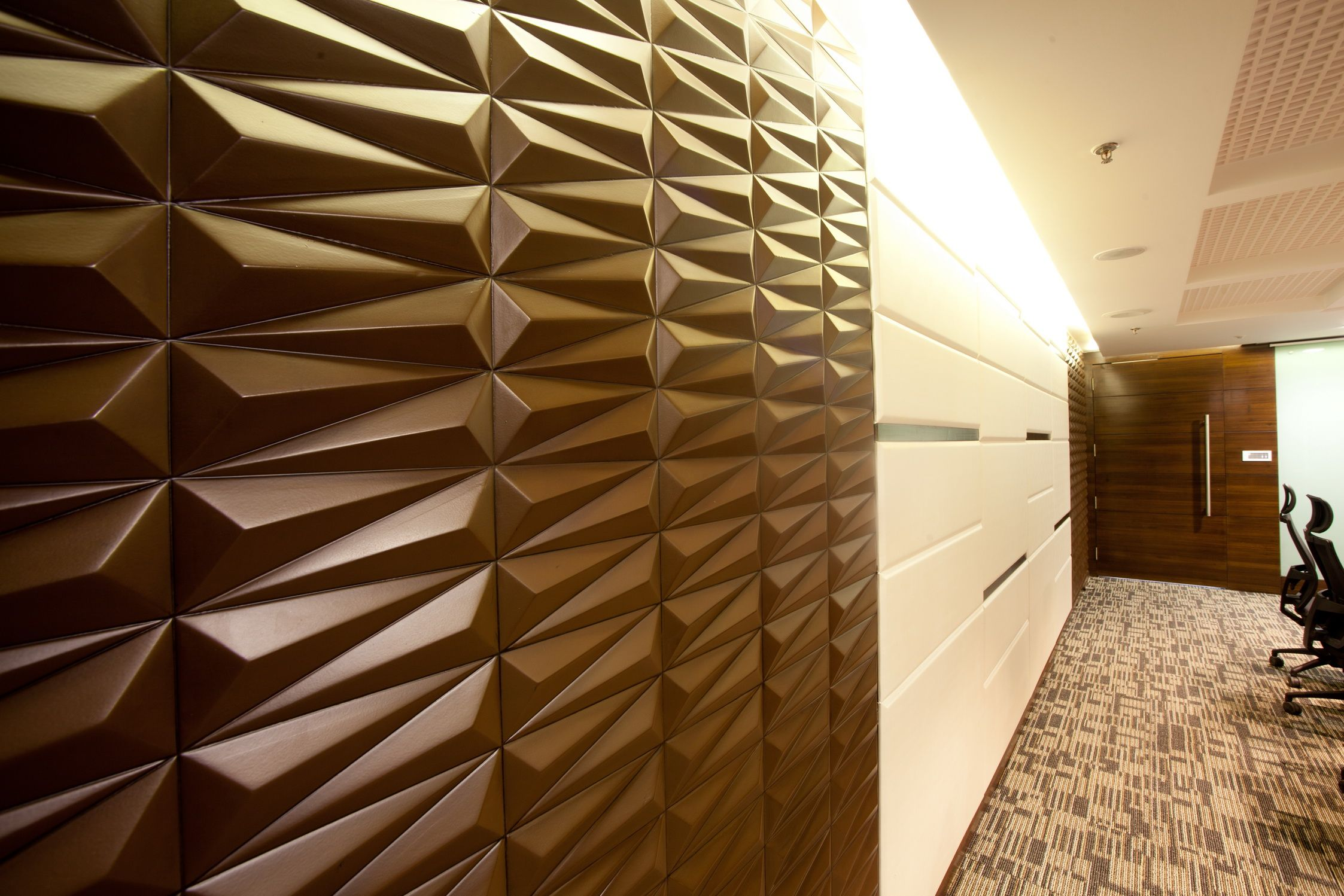 Carved Mdf Panel Board Room By Kushwah And Kushwah Architects Interiors By Kushwah And