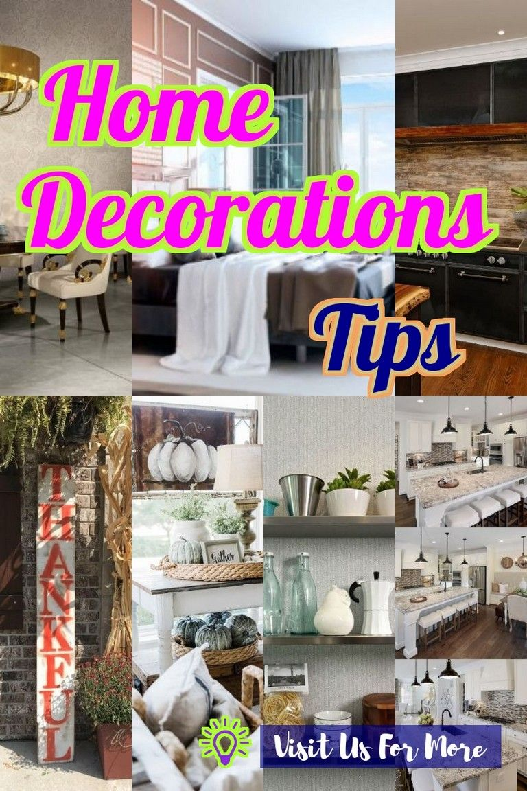 Home Decoration Is Easy When You Have