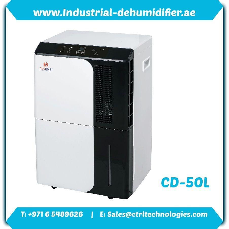 CD-50L dehumidifier reviews by CtrlTech in Dubai, UAE. Dehumidifier buy. Dehumidifier cost.