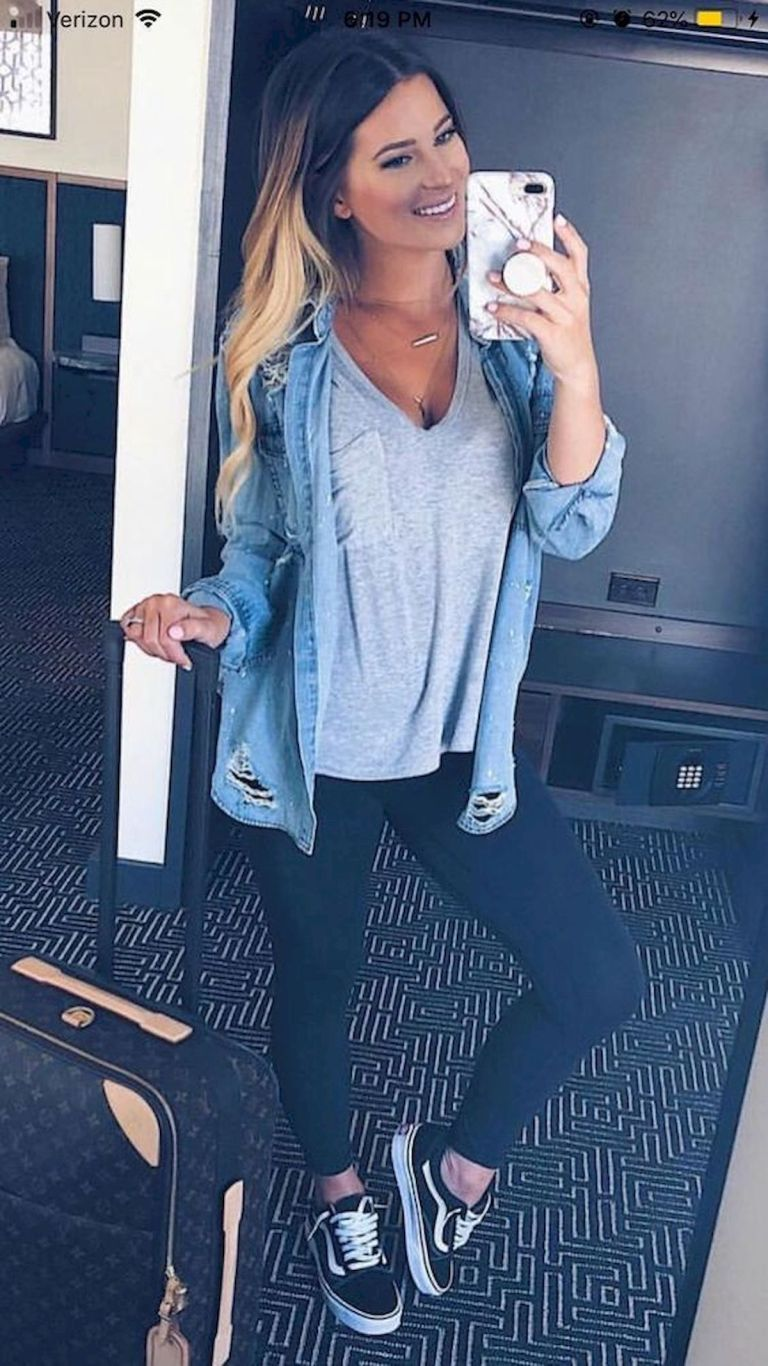 Best Spring Outfits Casual 2019 for Women (1) - Fashion and Lifestyle #casualoutfits