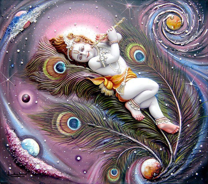 Sri Krishna | m | Baby krishna, Krishna art, Shree krishna