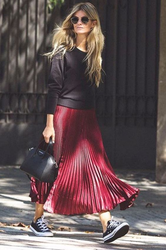 Photo of 🖤 Long skirt: How to choose the ideal long skirt and how to wear it. …..