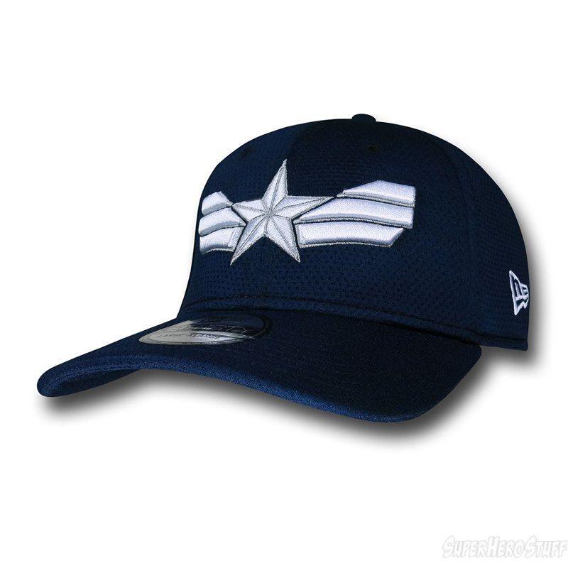 5b51584f6 Captain America Winter Symbol 39Thirty Cap | wearable fiction ...