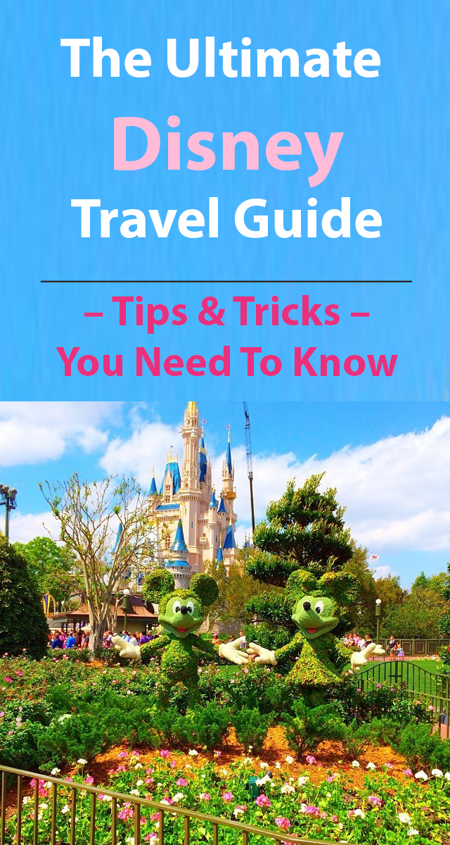 The Ultimate Disney Travel Guide FASHION TO FOLLOW / TRAVEL  Tips and Tricks You Need To Know When Visiting Disneyland, Disney World, which includes Magic Kingdom, Epcot, Hollywood Studios and how you can see them in a day.  Tip 1: Travel During A Special Event Disney is great year-round. Seasoned visitors can get more out of their trip by going during festivals. Epcot International Flower & Garden Festival or the International Food & Wine Festival World Showcase More on…