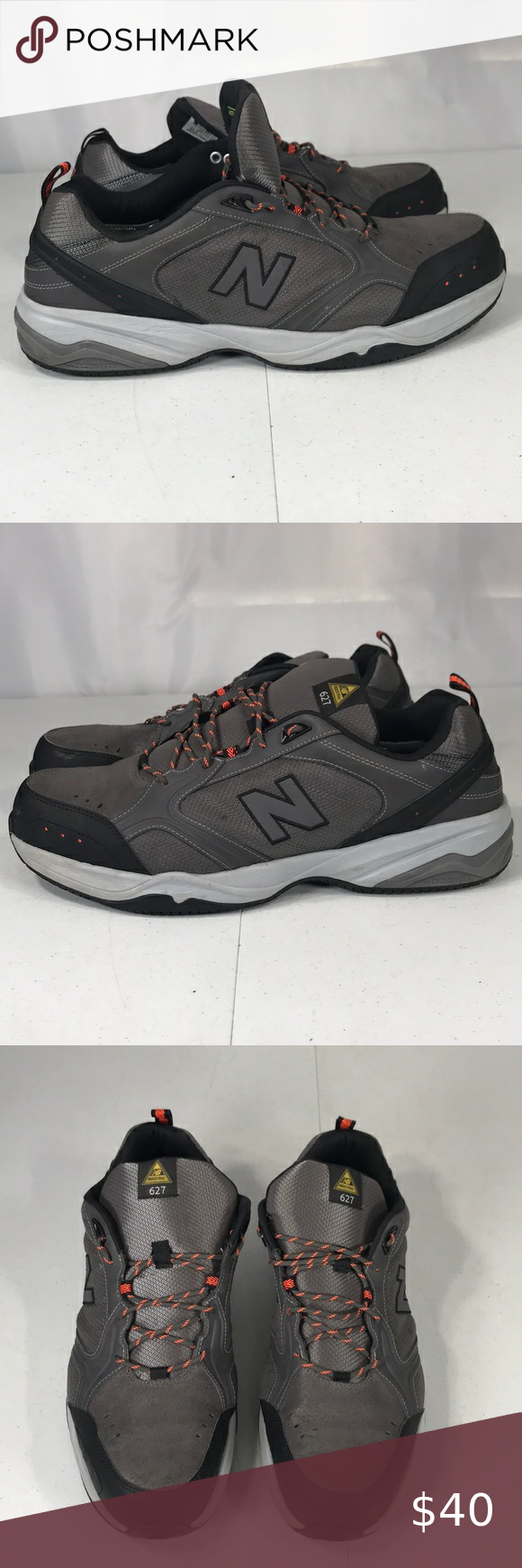 New balance industrial 627 steel toe