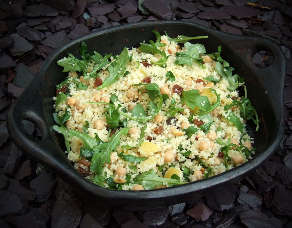 Couscous salad with lemon & chickpeas - CookTogether