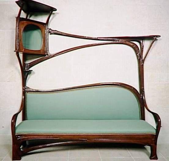 Meubles art and craft recherche google art nouveau - Meuble art nouveau ...