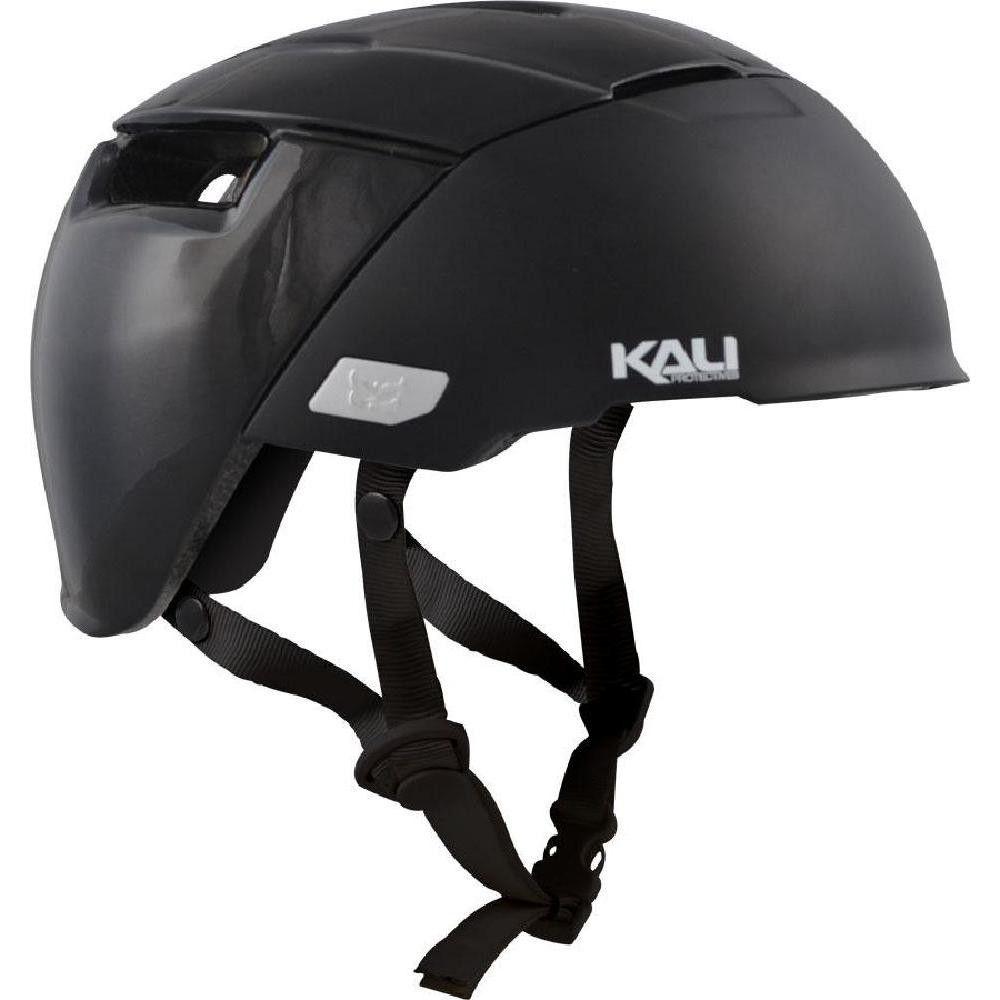 Kali Protectives City Helmet Solid Matte Black Lg Xl Size Large