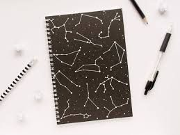 Image result for constellation aesthetic notebook covers ...