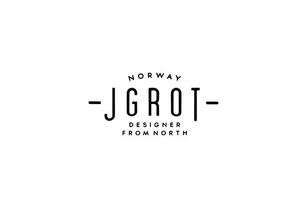 More logos by Jørgen Grotdal, via Behance