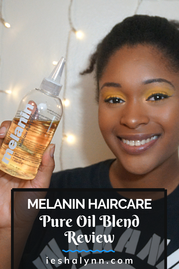Melanin Haircare Pure Oil Blend Review in 2020 Pure oils
